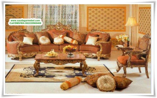Set Kursi Sofa Tamu Mobilya